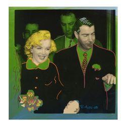 "Mr. and Mrs. DiMaggio by ""Ringo"" Daniel Funes"