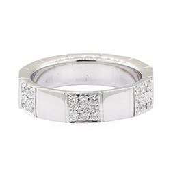 0.65 ctw Diamond Band - 14KT White Gold