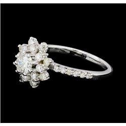 1.00 ctw Diamond Ring - 14KT White Gold
