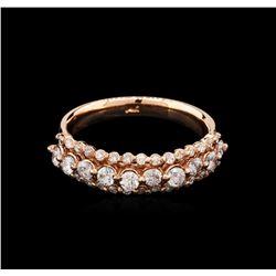 0.85 ctw Diamond Ring - 14KT Rose Gold