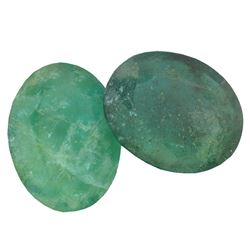 7.85 ctw Oval Mixed Emerald Parcel