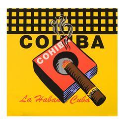 Cohiba by Steve Kaufman (1960-2010)