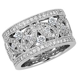 Diamond Ring - 14KT White Gold