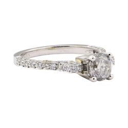 1.01 ctw Diamond Ring - Platinum