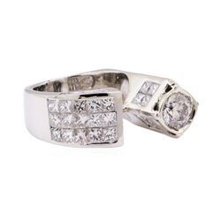 5.57 ctw Diamond Ring - Platinum