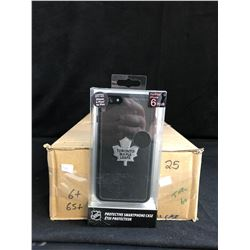 NHL PROTECTIVE iPHONE CASE (TORONTO MAPLE LEAFS) *COMPATIBLE W/ iPHONE P PLUS/ 6s PLUS*