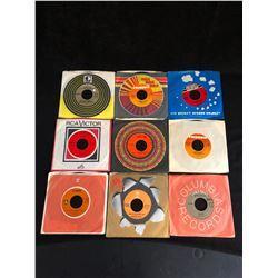 VINYL RECORD LOT (45's)