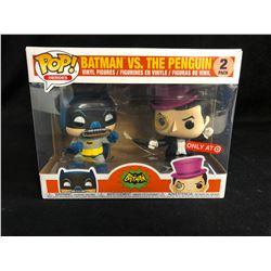 FUNKO POP! HEROES BATMAN VS. THE PENGUIN VINYL FIGURES 2 PACK