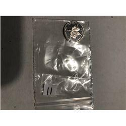 Silver Canadian Maple 999 Fine Silver 1 Gram MS High Grade