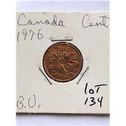 1976 Canada 1 Cent BU High Grade Coin
