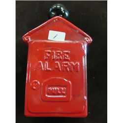 """VINTAGE FIRE BOX DECNATER CONTAINING """"WILD COUNTRY"""" AFTERSHAVE"""