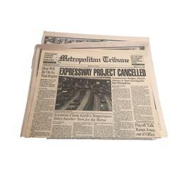 Payback Metropolitan Times Newspaper Movie Props