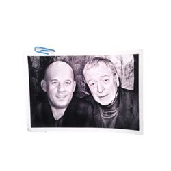 The Last Witchunter Dolan (Michael Caine) Kaulder (Vin Diesel) Hero Photo Movie Props