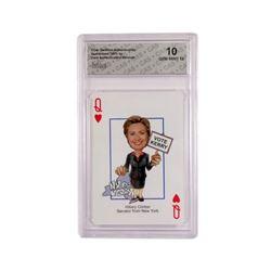 Hillary Clinton Trading Card