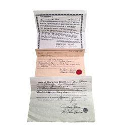 Django Broomhilda (Kerri Washington) Purchase & Freedom Papers Movie Props