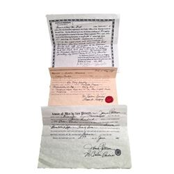 Django Broomhilda (Kerri Washington) Purchase & Freedom Papers Movie Props