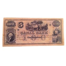 Django Canal $100 Bank Note Movie Props