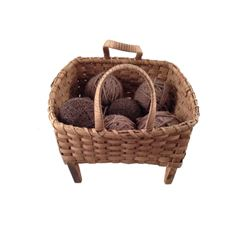 The Hateful Eight Sweet Dave (Gene Jones) Knitting Basket Movie Props