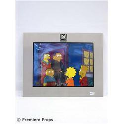 The Simpsons  Original Hand-Painted Cel