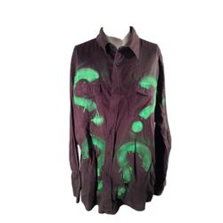 Batman vs. Superman Dawn Of Justice Riddler Shirt Movie Costumes