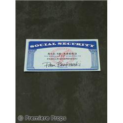 Killshot (2008) Carmen (Diane Lane) Social Security Card