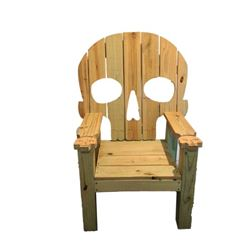 Hell Fest Screen Used Skeleton Chair