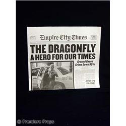 Superhero Movie Empire City Times Movie Props
