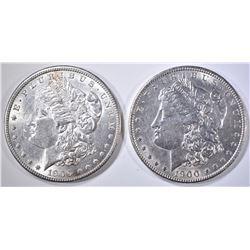1900 & 1900-O BU MORGAN DOLLARS