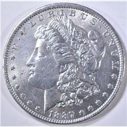 1887-O MORGAN DOLLAR BU