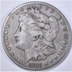 1890-CC MORGAN DOLLAR FINE