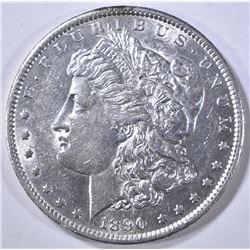 1890-S MORGAN DOLLAR AU/BU