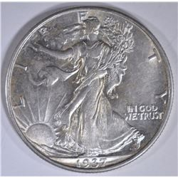1937 WALKING LIBERTY HALF DOLLAR  AU