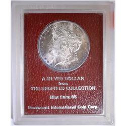 1891-S MORGAN DOLLAR  PARAMOUNT GEM BU