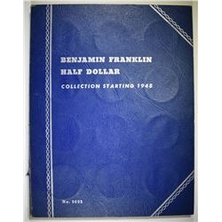COMPLETE SET OF CIRCULATED FRANKLIN HALF DOLLARS