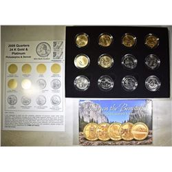 2009 & 2010 COLLECTOR COIN SETS: