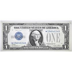 1928 A $1 SILVER CERTIFICATE STAR NOTE