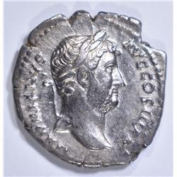 117-138 AD SILVER DENARIUS  ROME EMPEROR HADRIAN