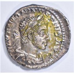 211-27 AD SILVER DENARIUS ROME EMPEROR CARCALLA