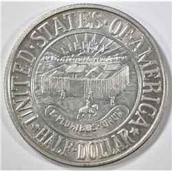 1936 YORK COMMEM HALF DOLLAR  CH BU