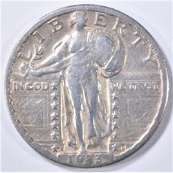 1923-S STANDING LIBERTY QUARTER  XF/AU