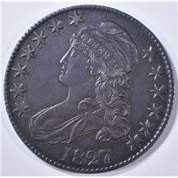 1827 BUST HALF DOLLAR  ORIG. AU/UNC