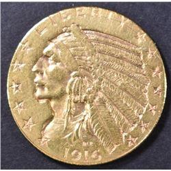 1916-S $5 GOLD INDIAN  BU