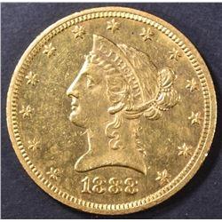 1888-O $10 GOLD LIBERTY  NICE BU