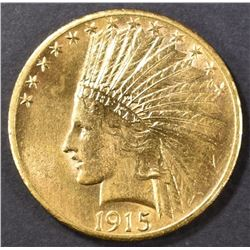 1915-S $10 GOLD INDIAN  AU/BU