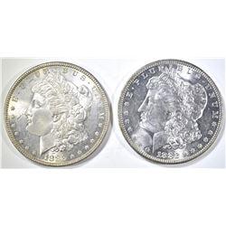 1882-O, 83 MORGAN DOLLARS CH BU
