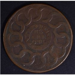 1787 FUGIO CINQUEFOIL STATES UNITED VF
