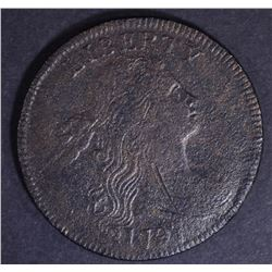 1797 LARGE CENT XF CORROSION