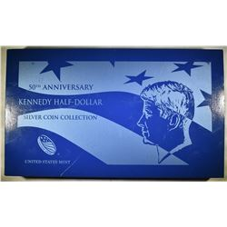 2014 KENNEDY 50th ANNIVERSARY COIN SET