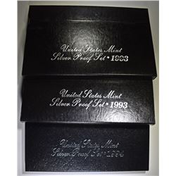 2-1993 & 1-94 U.S. SILVER Pf SETS ORIG PACKAGING