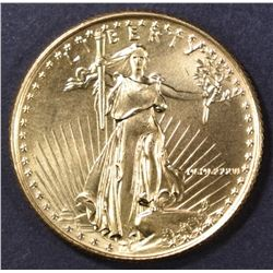 1986 1/4oz AMERICAN GOLD EAGLE, BU